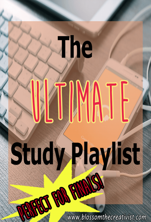 the ultimate study playlist perfect for finals