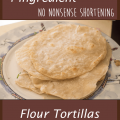 4 ingredient flour tortillas