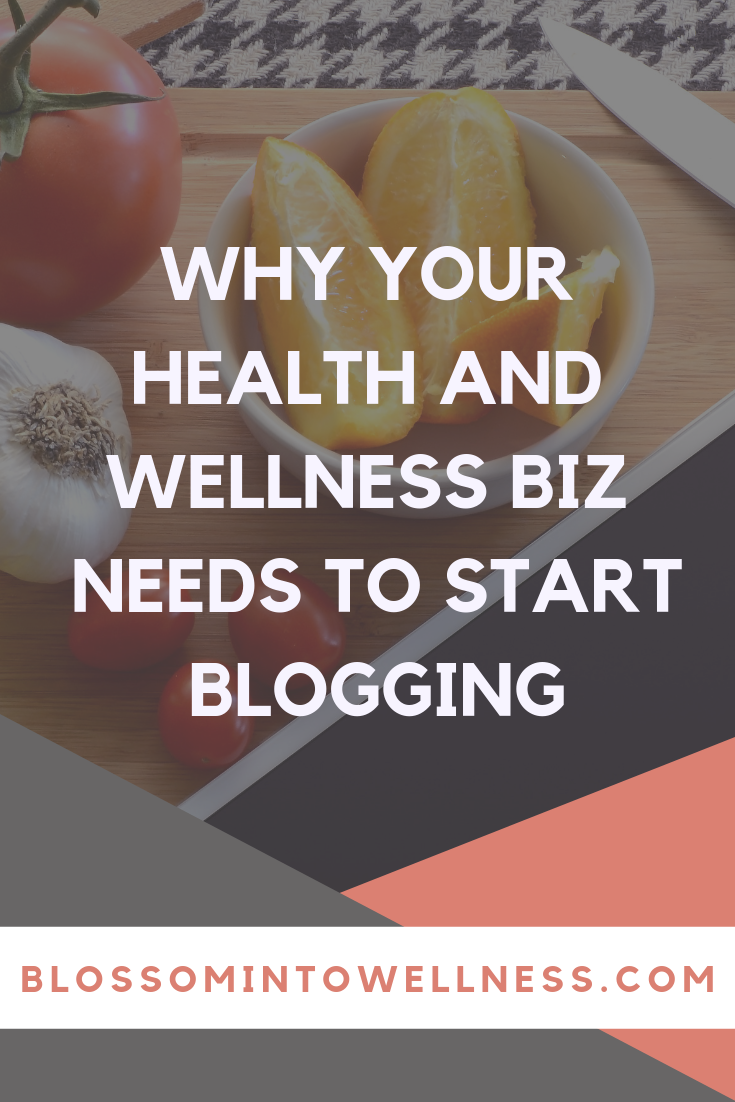 If you are a health and wellness business or organization and you haven't added blogging to your content marketing strategy, you're missing out! Blogging not only helps you build SEO, but also helps you establish authority and trust. People buy from businesses they trust! Here are more reasons your health and wellness business needs to start blogging!